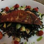 Salmon (little overcooked but still good)