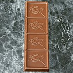 Cette Tablette Sablée associe un Caramel au Beurre Salé et un Sablé Breton, enrobée de Chocolat