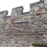 A segment of the original Flodden Wall
