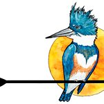 Kingfisher Paddleventures logo - you know it's us when you see this