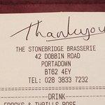 Bilde fra Stonebridge Brasserie