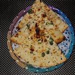 fresh and yummy  garlic nan