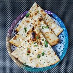 Chilli and cheese nan