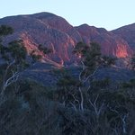 from World Expeditions campsite Mt Sonder Larapinta Trail at Dawn. Exquisite!