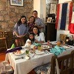 Disfrutando en familia!