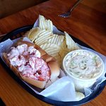 The Lobster Roll combo (that came with one clam chowder)