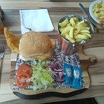 Fish Burger Meal