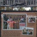 Jack Hannah & Betty White display