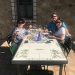 Lunch in Tuscany!!