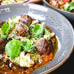 Lamb Kofta Meatballs, with a little bit of spice to warm you up!