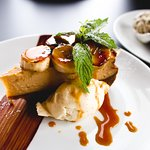 Banoffee Cheesecake with vanilla marscapone!