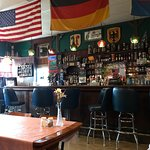 This small, old German beer bar served some tasty Hungarian Goulash and Bratwurst!