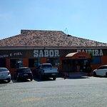 Fachada do Restaurante Sabor Caipira.