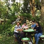 Let's take a leisure time with your beloved ones in garden after the farm tour....