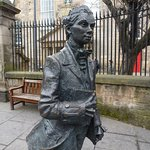 Photo of Robert Fergusson Statue
