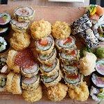 Eine Auswahl von sechs Gerichten