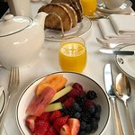 Fantastic fruit at breakfast
