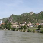 The town from the river