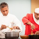Chef Dhan Ali & Ala Uddin - Cooking Demonstration at the Home & Garden Show Stratford Upon Avon