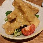 Satay tofu (entree)