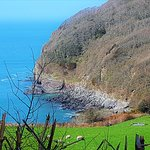 Heading out of the Valley via Woody Bay
