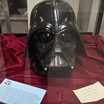 Darth Vader mask from LucasFilms as a thank you for providing sound effects