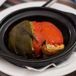 Baked Feta dish