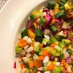 Bitter Gourd/Ampalaya Salad.