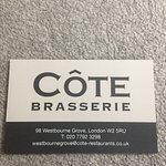 Photo of Cote Brasserie - Notting Hill