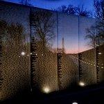 Vietnam Memorial at dawn