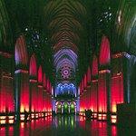 Special Interior Lighting Display, Washington National Cathedral