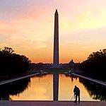Dawn at the Reflecting Pool, Washington DC