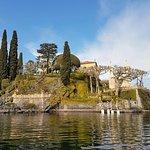 Villa Balbianello from the boat
