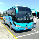 The new Chinese bus at MBJ