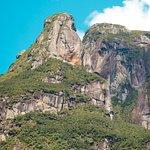 Pico Marumbi visto de baixo, cume olimpo