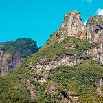 Pico Marumbi visto de baixo