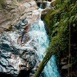 Cachoeira em direção ao pico Olimpo
