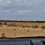 Driving by the pinnacles