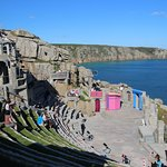Minack Theatre looking down