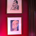 Off The Record in Hay-Adams Hotel - Political Caricatures