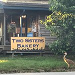 Two Sisters Bakery a warm cozy place where the coffee is hot and the buns are sticky