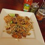 pork belly pad Thai....more yum