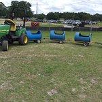 Kiddy Tractor Train
