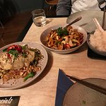 Pad Thai and Cashew Chicken delicious!