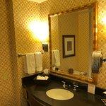 Magical age-defying bathroom lighting
