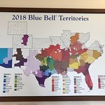 Blue Bell ice cream nation-wide in most states