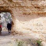 Bright Angel Trail, not far from the trailhead