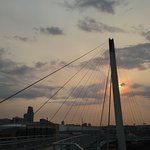 Downtown Omaha from the Bob Kerry Pedestrian Bridge