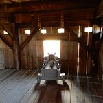1st level of the barn with cannon & gun ports.