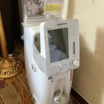 Oxygen machine in our room